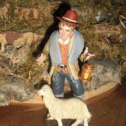 pastore-pecora-terracotta-15cm