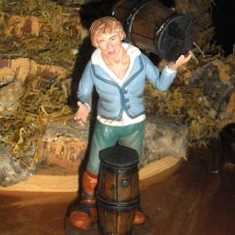 pastore-vino-terracotta-15cm